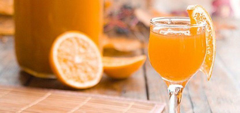 Рецепт домашнего апельсинового ликера на водке