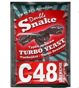 Специальные спиртовые дрожжи Double Snake C48