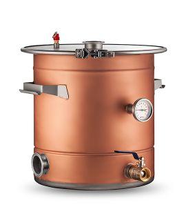 Медный перегонный куб AquaGradus Универсал 35 литров