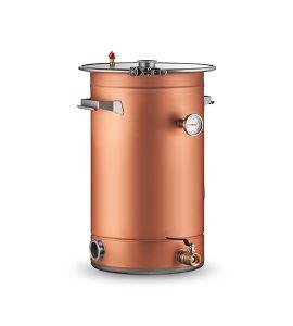 Медный перегонный куб AquaGradus Универсал 75 литров