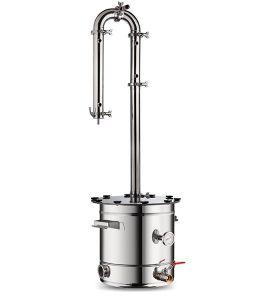 Самогонный аппарат AquaGradus ДеЛюкс 35 литров (на болтовом соединении)
