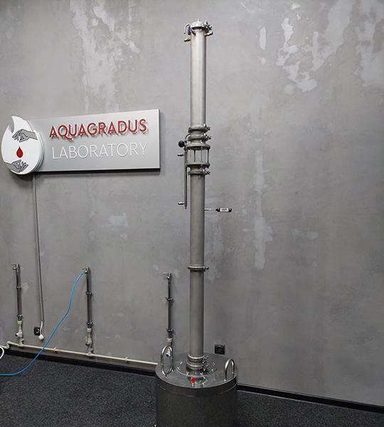 Ректификационная колонна AquaGradus Альфа 2.0 кламп